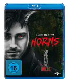 Horns (Blu-ray), Blu-ray Disc