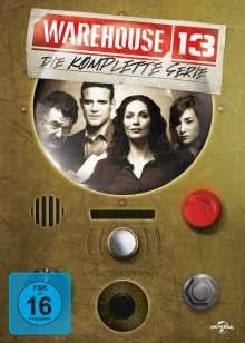 Warehouse 13 (Komplette Serie), 16 DVDs