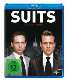 Suits Season 4 (Blu-ray), 4 Blu-ray Discs