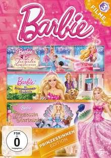 Barbie Prinzessinnen Edition, 3 DVDs