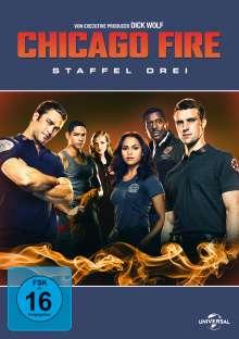 Chicago Fire Season 3, 6 DVDs