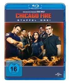 Chicago Fire Season 3 (Blu-ray), 5 Blu-ray Discs