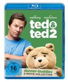 Ted 1 & 2 (Blu-ray), 2 Blu-ray Discs