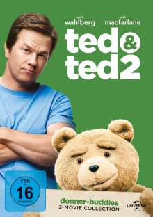 Ted 1 & 2, 2 DVDs