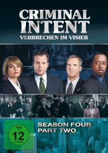 Criminal Intent Season 4 Box 2, 3 DVDs