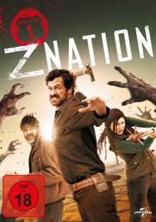Z Nation Season 1, 3 DVDs