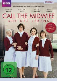 Call The Midwife Season 3, 3 DVDs