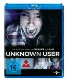 Unknown User (Blu-ray), Blu-ray Disc