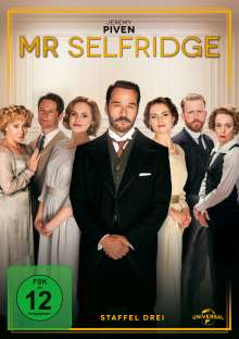 Mr. Selfridge Season 3, 3 DVDs