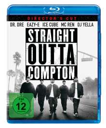 Straight Outta Compton (Director's Cut) (Blu-ray), Blu-ray Disc