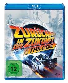 Zurück in die Zukunft I-III (30th Anniversary Edition) (Blu-ray), 4 Blu-ray Discs