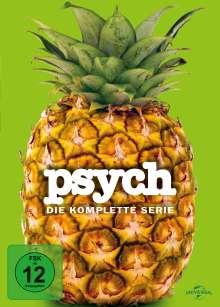 Psych (Komplette Serie), 31 DVDs
