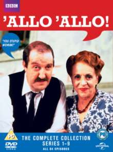 'Allo' Allo Season 1-9 (UK Import), 16 DVDs