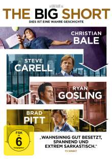 The Big Short, DVD