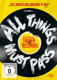 All Things Must Pass - The Rise and Fall of Tower Records, DVD