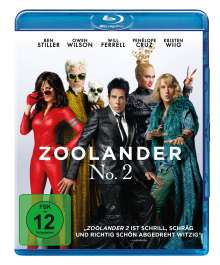 Zoolander No. 2 (Blu-ray), Blu-ray Disc