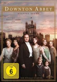 Downton Abbey Season 6 (finale Staffel), 4 DVDs