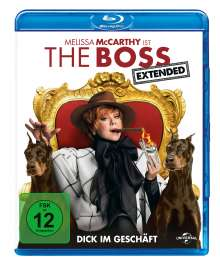 The Boss (Blu-ray), Blu-ray Disc