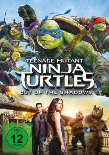 Teenage Mutant Ninja Turtles - Out of the Shadows, DVD