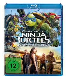Teenage Mutant Ninja Turtles - Out of the Shadows (Blu-ray), Blu-ray Disc