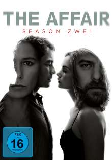 The Affair Season 2, 4 DVDs
