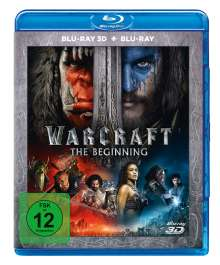 Warcraft: The Beginning (3D & 2D Blu-ray), 2 Blu-ray Discs