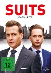 Suits Season 5, 4 DVDs