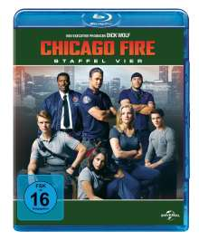 Chicago Fire Season 4 (Blu-ray), 6 Blu-ray Discs