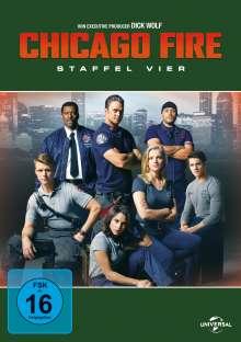 Chicago Fire Season 4, 6 DVDs