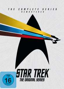 Star Trek: Raumschiff Enterprise (Komplette Serie), 23 DVDs