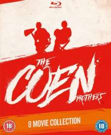 The Coen Brothers 8 Movie Collection (Blu-ray) (UK Import), 8 Blu-ray Discs