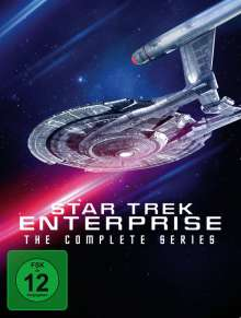Star Trek Enterprise (Komplette Serie), 27 DVDs