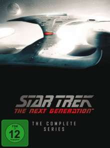 Star Trek: The Next Generation (Komplette Serie), 48 DVDs