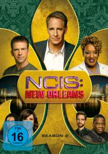Navy CIS: New Orleans Staffel 2, 6 DVDs