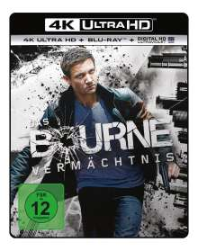 Das Bourne Vermächtnis (Ultra HD Blu-ray & Blu-ray), 1 Ultra HD Blu-ray und 1 Blu-ray Disc
