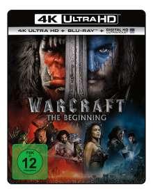 Warcraft: The Beginning (Ultra HD Blu-ray & Blu-ray), 2 Ultra HD Blu-rays