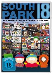 South Park Season 18, 2 DVDs
