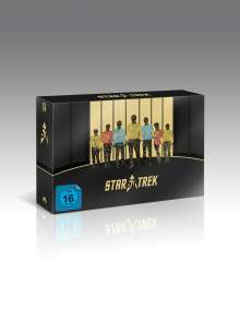 Star Trek 50th Anniversary Collection (Blu-ray), 30 Blu-ray Discs
