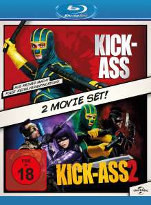 Kick-Ass / Kick-Ass 2 (Blu-ray), 2 Blu-ray Discs