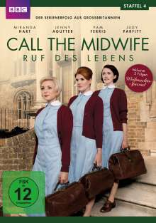 Call The Midwife Season 4, 3 DVDs