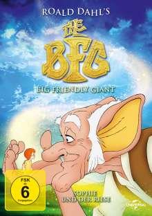 The Big Friendly Giant - Sophie und der Riese, DVD