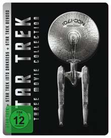 Star Trek: Three Movie Collection (Blu-ray im Steelbook), 6 Blu-ray Discs