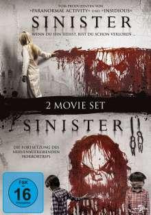 Sinister 1 & 2, 2 DVDs