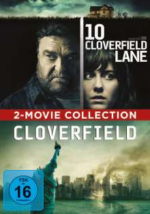 Cloverfield / 10 Cloverfield Lane, 2 DVDs