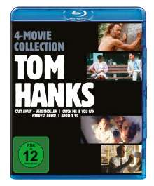 Tom Hanks 4 Movie Collection (Blu-ray), 4 Blu-ray Discs