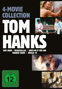 Tom Hanks 4 Movie Collection, 4 DVDs