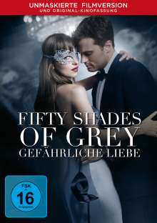 Fifty Shades of Grey 2 - Gefährliche Liebe, DVD