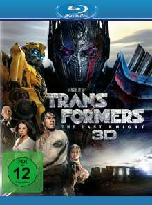 Transformers 5: The Last Knight (3D & 2D Blu-ray), 3 Blu-ray Discs