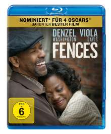 Fences (Blu-ray), Blu-ray Disc