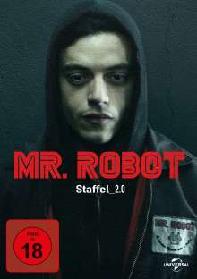 Mr. Robot Staffel 2, 4 DVDs